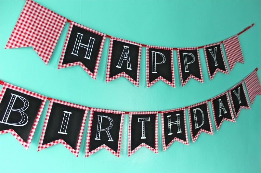 Birthday Bunting 1