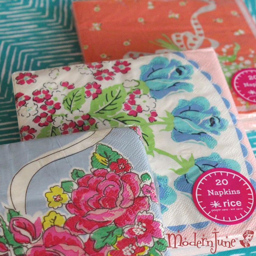 Rice-DK-Paper-Napkins-in-Vintage-Hanki-motifs-at-ModernJune.com