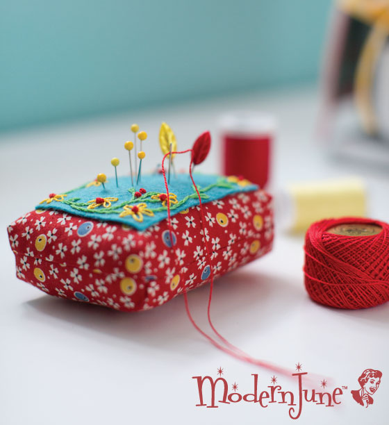 Embroidered-Pin-Cushion-pattern-from-At-Home-with-Modern-June