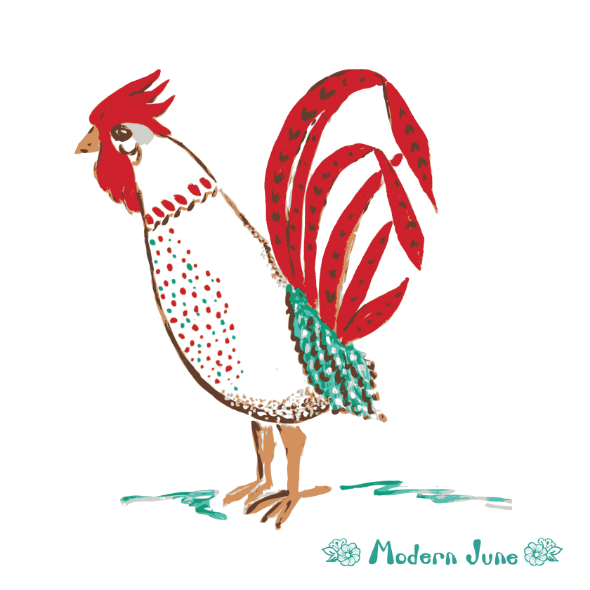 acrylic-chicken