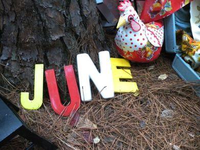 June letters
