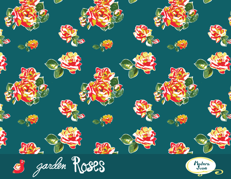 Garden-Rose-Fabric-Design-by-Kelly-McCants-for-Modern-June