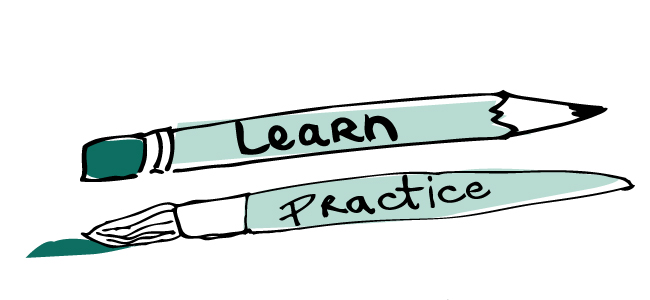 Learn-and-practice