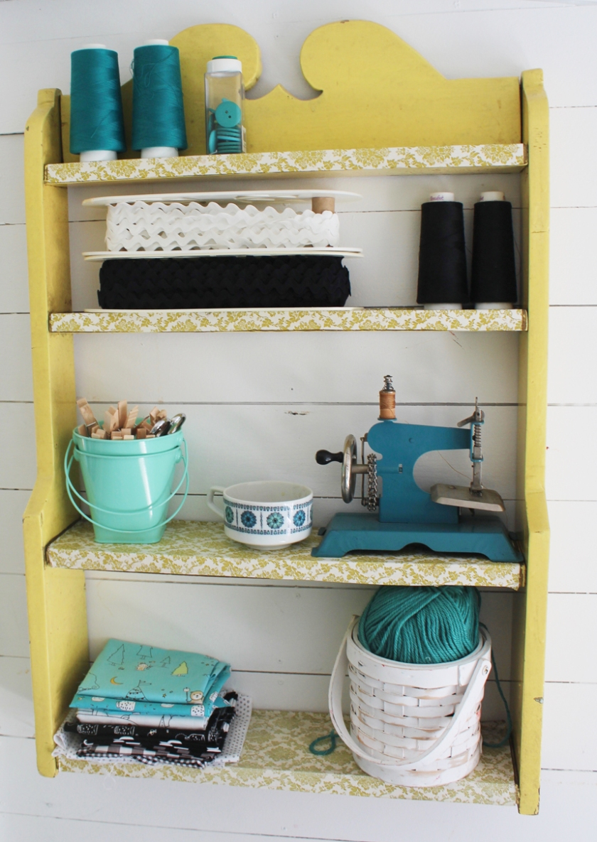Sewing-Shelf